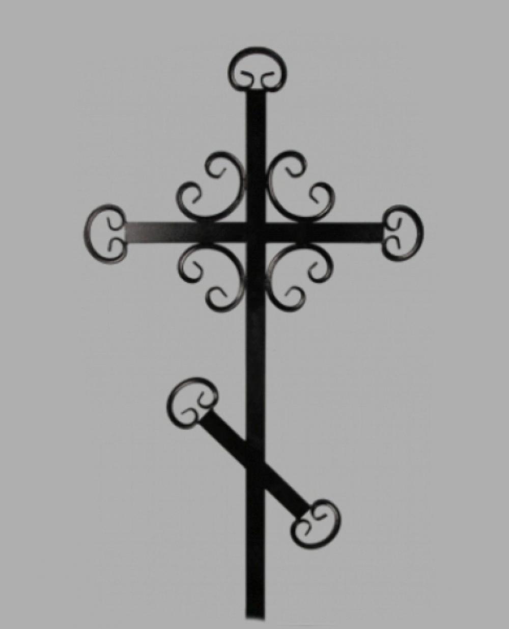 Крест на могилу кованный №2 Астериум