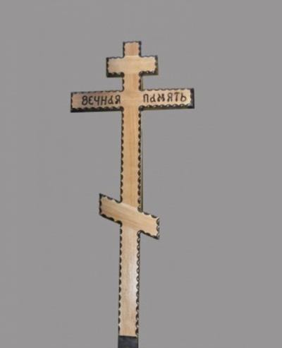 Крест на могилу дуб резной С